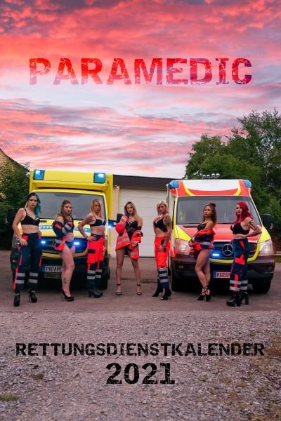 Rettungsdienst Wandkalender 2021 DIN A3